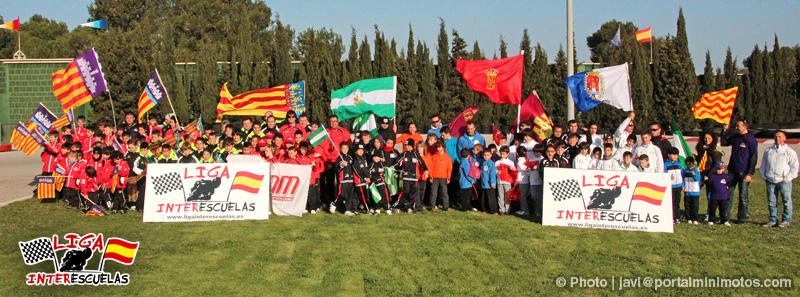 Espectacular arranque de la Liga Interescuelas 2012 en Palma