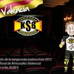 Hoy en Valencia, presentación de la escuela KSB Sport 2012, con Héctor Faubel y Champi Herreros.