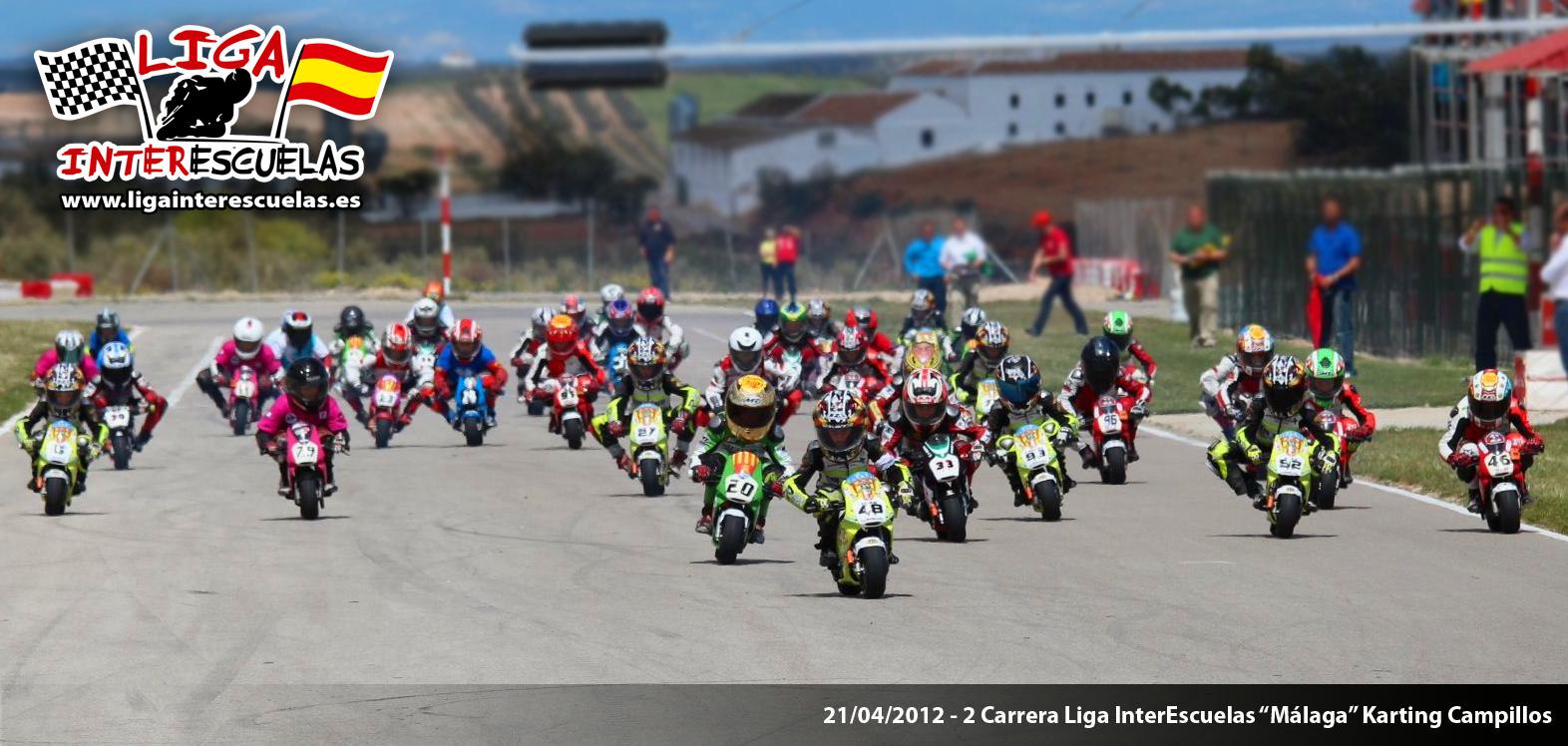 La Liga Interescuelas llena el karting Campillos, en su 2ª prueba.
