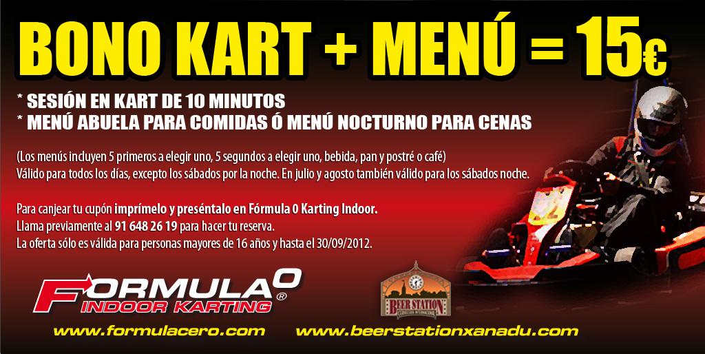 Karting en Madrid: Libera tu adrenalina y recupera fuerzas por 15 euros