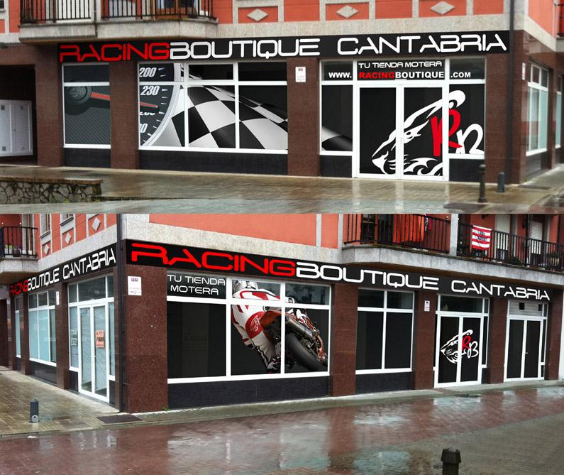 Racing Boutique sigue creciendo, ahora también en Cantabria