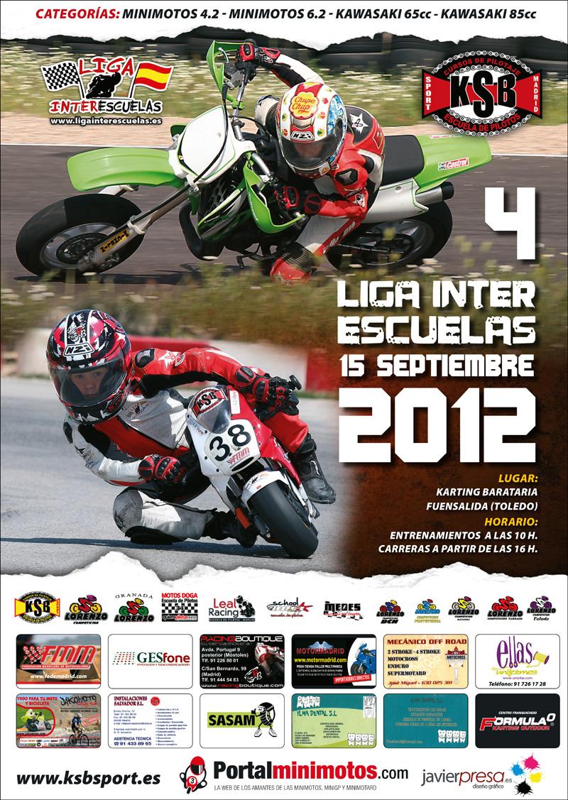 4 Carrera de la Liga Interescuelas 2012, vuelve el motociclismo