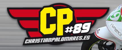 El piloto Christian Palomares estrena página web