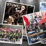 Quads, minimotos, stunt, trial y monster Trial Show las exhibiciones MotoMadrid 2013, obligado asistir en moto ;-)