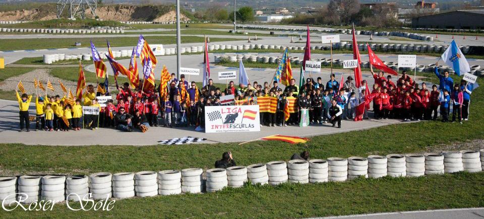 Cataluña recibe por primera vez La Liga Interescuelas en el circuito d´Osona