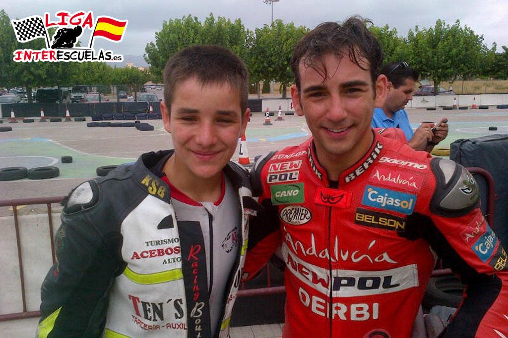 Iker Lecuona con Ricky Cardús