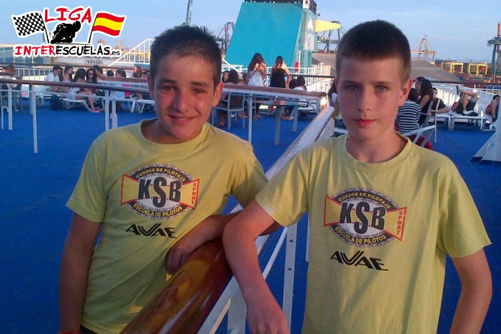 De Valencia a Mallorca en barco.