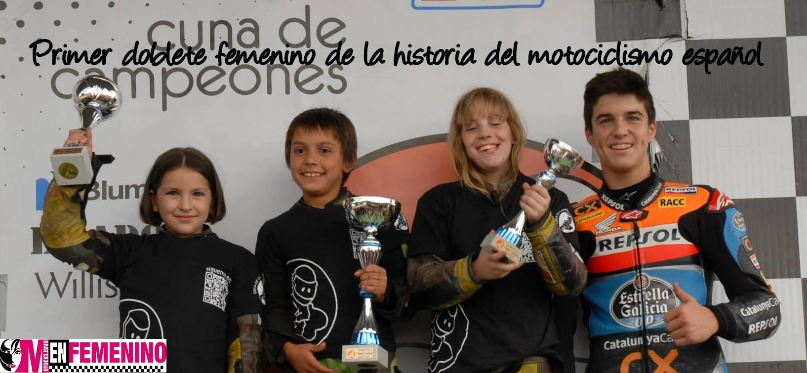 Dos chicas suben al podium en la 5ª Prueba del Campeonato de Cuna de Campeones 2013