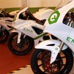 Héctor Faubel y Dani Amatríain asisten a la inauguración de EMA Competición la primera Escuela de Mecánica de Motos Andaluza