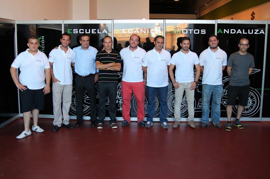 Cristóbal Valdés Martinez, Enrique Gluckmann, Dani Amatriaín, Kike Bañuls, Josele Lafuente, David Doga, Héctor Faubel, Miguel Pariente y David Sánchez.