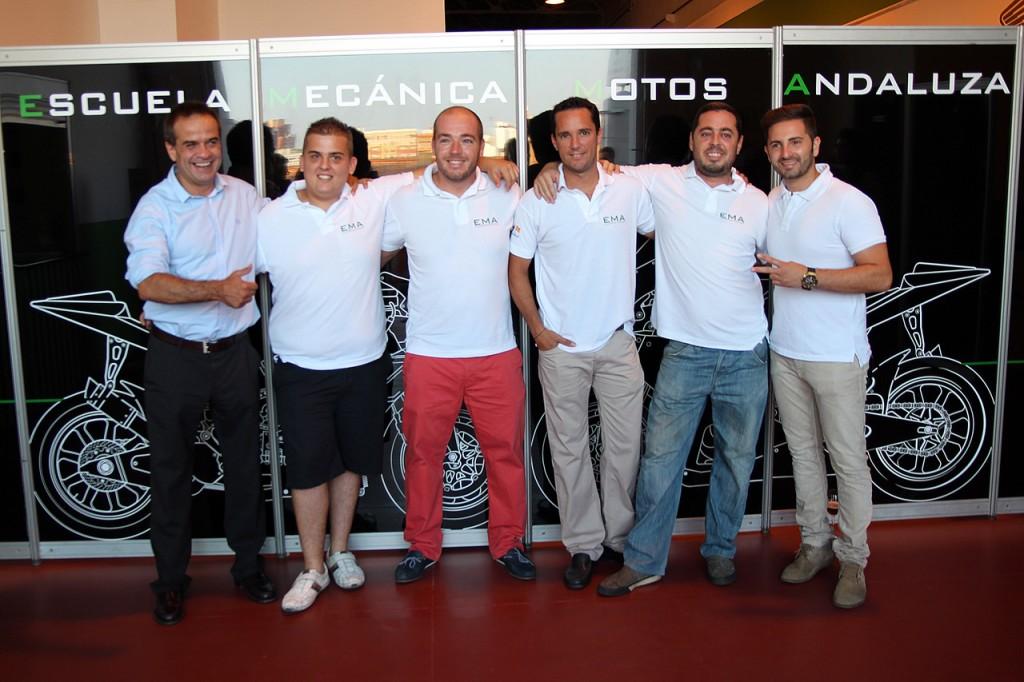 Dani Amatriaín, Cristóbal Valdés Martinez, Josele Lafuente,  Enrique Gluckmann,  Miguel Pariente y Héctor Faubel.