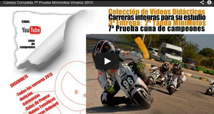 Vídeo: 7ª Prueba del Campeonato Nacional de Cuna de Campeones. Vinaroz