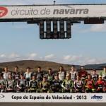 Los campeones de la Copa de España de Velocidad