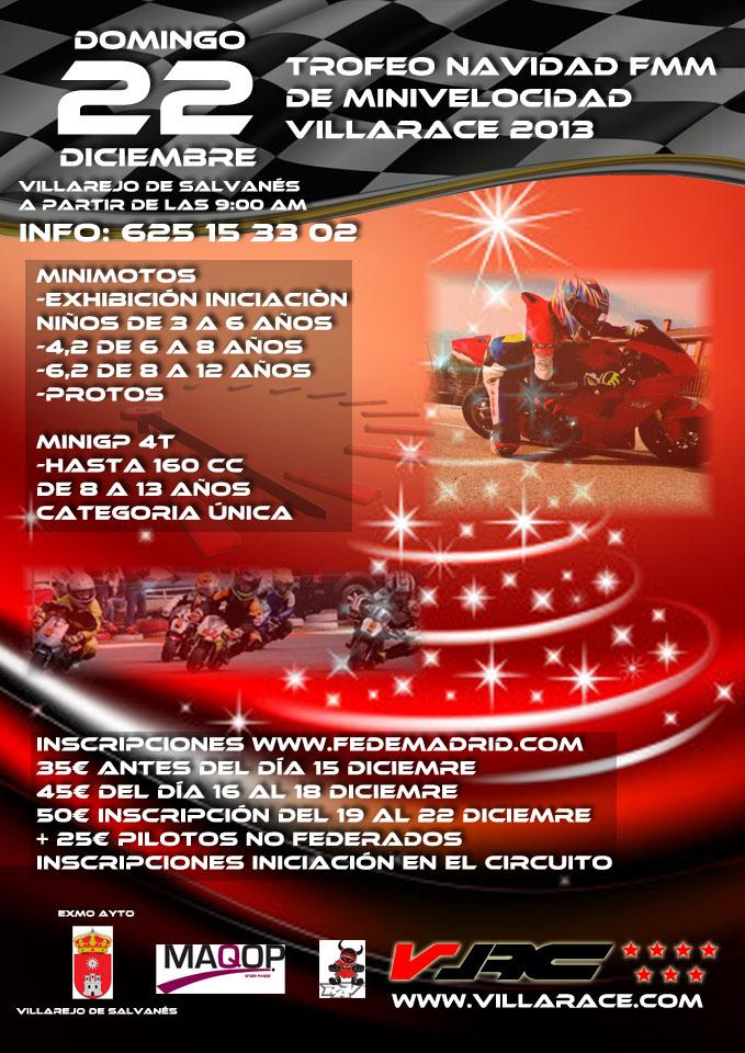 Trofeo Navidad Villarace domingo 22 de diciembre