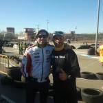 Oscar de Haro,  director deportivo de LCR Honda de Motogp visita Villarace