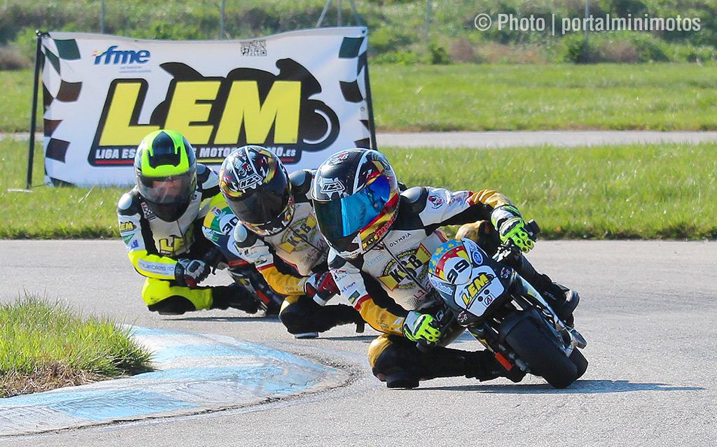 pilotos de la Liga Española de Motociclismo