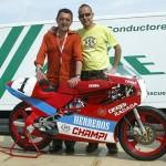 La escuela de pilotos KSB Sport Valencia con Champi Herreros en el Circuit de la Comunitat Valenciana Ricardo Tormo en Cheste