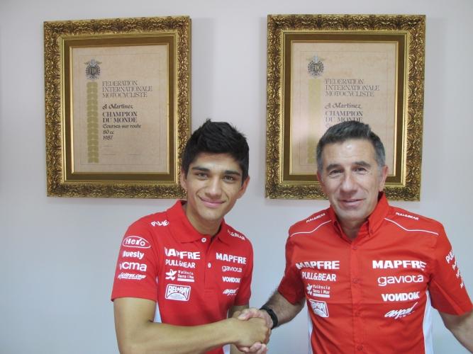 Nuestro jorge88: Aspar Team incorporará entre sus filas de Moto3 al joven campeón madrileño Jorge Martín