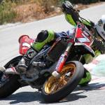 El piloto Iker Lecuona disputa el Campeonato de España de Supermotard