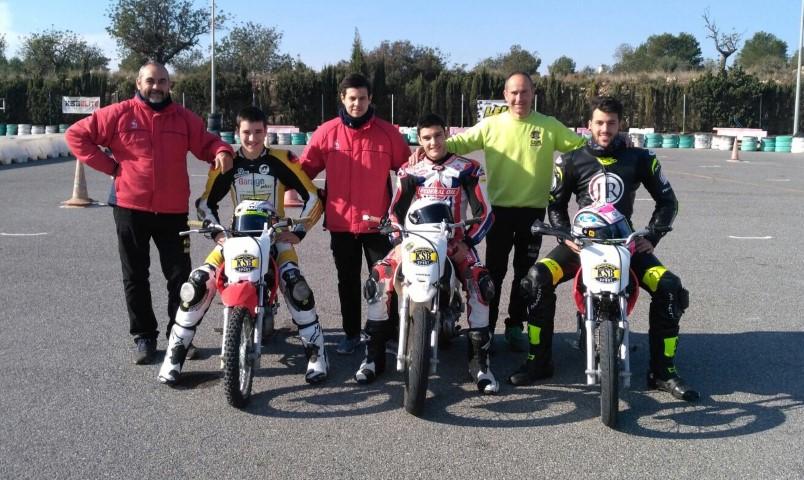 Así entrenan los pilotos del mundial de Moto2